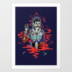 Dead Spock Art Print