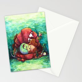 The Littlest Mermaid Stationery Cards