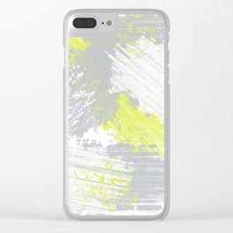 SPLAT 1 Clear iPhone Case