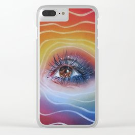 Twinkle in her eyes Clear iPhone Case