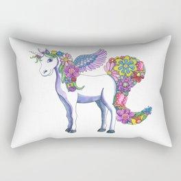 Madeline the Magic Unicorn Rectangular Pillow