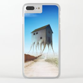 Stronger Roots Clear iPhone Case