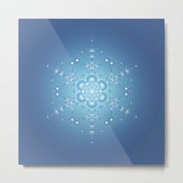 Inner Space | Sacred geometry Metal Print