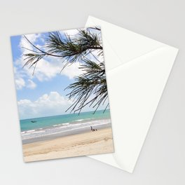 Tropical Beach Paradise Stationery Cards