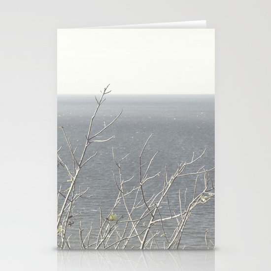 Branches at the sea Stationery Cards