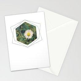 Subtly Flourishing - Hexagon Stationery Cards