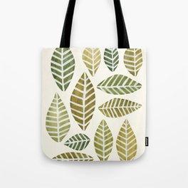 Leaves Arrangement Tote Bag