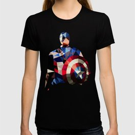 Polygon Heroes - Captain America T-shirt