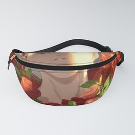 Surrounded by Roses Fanny Pack