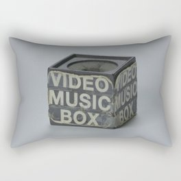 Video Music Box Rectangular Pillow