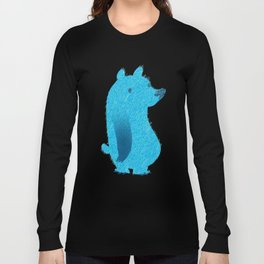 Blue Bear Long Sleeve T-shirt