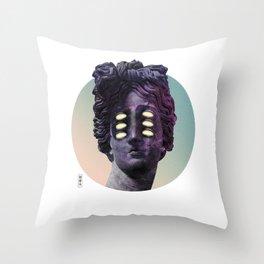 """""""The Night Crawler"""" Throw Pillow"""