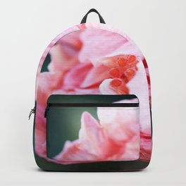 Jane Cowl Tropical Hibiscus Petals Unfurling Backpack