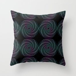 Geometry Polygon Throw Pillow