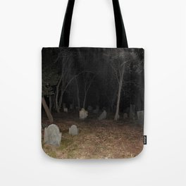 Cemetery Forest Tote Bag
