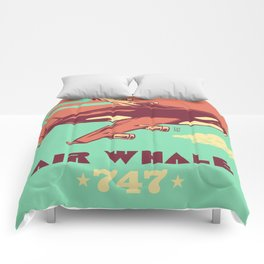 Air Whale Comforters