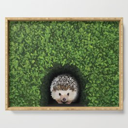 Little Hedgehog in the Hedge Serving Tray