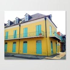 New Orleans Quarter Canvas Print