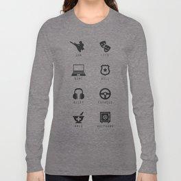 Sense8 Minimalist Long Sleeve T-shirt