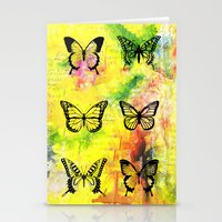 butterflies Stationery Cards featuring Butterflies by ShaMiLa