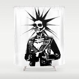 Punk Girl Shower Curtain