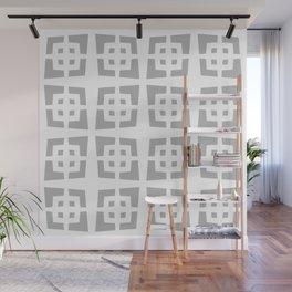 Cool Mid Century Modern Geometric Pattern 834 Gray Wall Mural