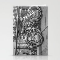 bikes Stationery Cards featuring Bikes by Kyla Steeves