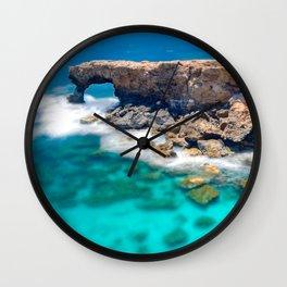 Natural Arch Wall Clock