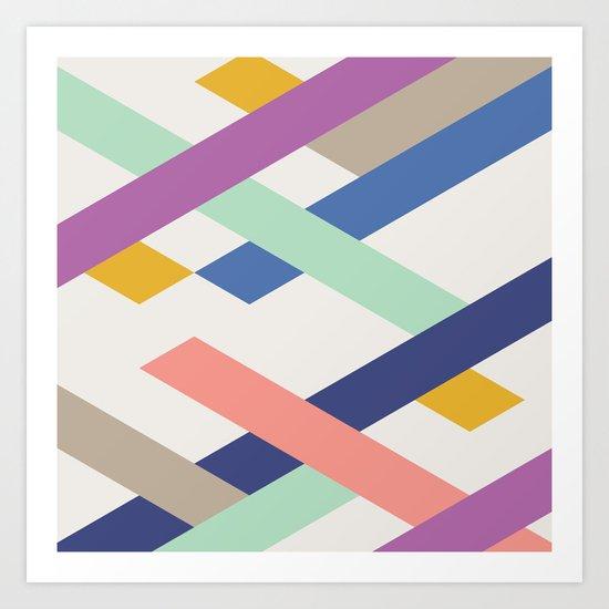 Overlay Art Print