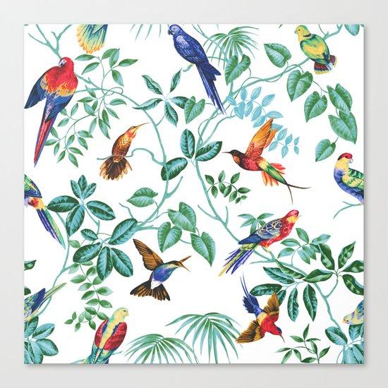 Jungle Birds II Canvas Print