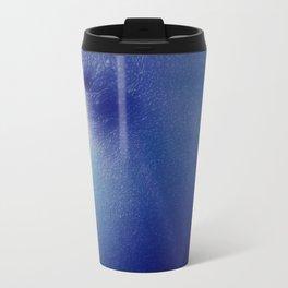Magnificent Breast Blue Bokeh Sparkle Travel Mug