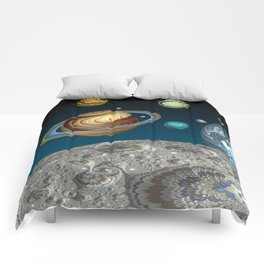 To The Moon And Beyond Comforters