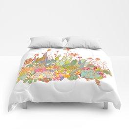 cactus garden Comforters