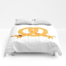 Pretzel Dog Comforters