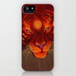Fire Tiger iPhone Case