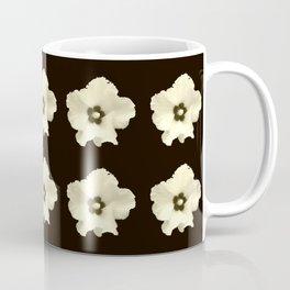 Sepia flower -bloom,blossom,petal,floral,leaves,flor,garden,nature,plant. Coffee Mug