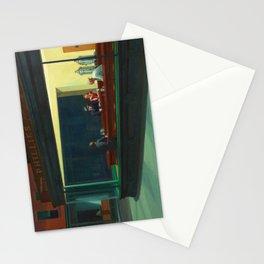 Nighthawks by Edward Hopper Stationery Cards
