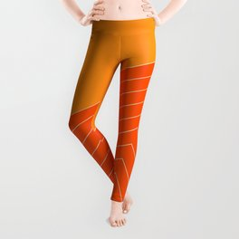 Orange Crush Range Leggings