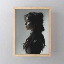 Camila Cabello 2 Framed Mini Art Print