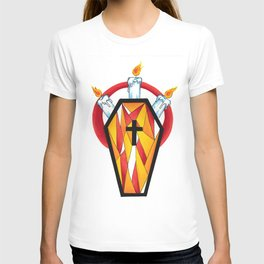 crystal coffin T-shirt
