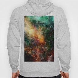 Abstract Galaxy Watercolor Hoody