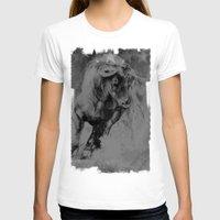 bull T-shirts featuring BULL by MikakoskArts
