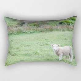 'Sup - Lamb in New Zealand Rectangular Pillow