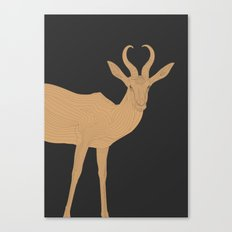 All lines lead to the...Inverted Springbok Canvas Print