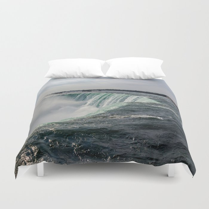 Water waterfall 5 Duvet Cover