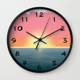 Peaceful Current Wall Clock