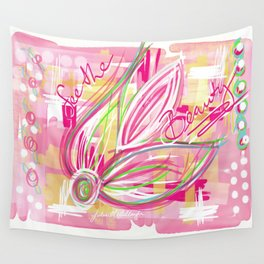 See the Beauty Wall Tapestry