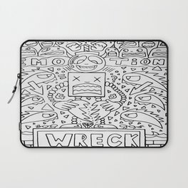 Emotional Wreck Laptop Sleeve