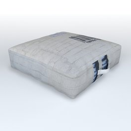 Banksy Robot (Coney Island, NYC) Outdoor Floor Cushion