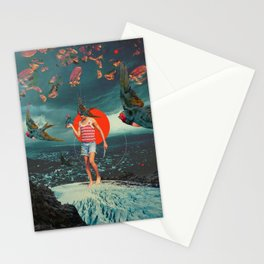 The Boy and the Birds Stationery Cards